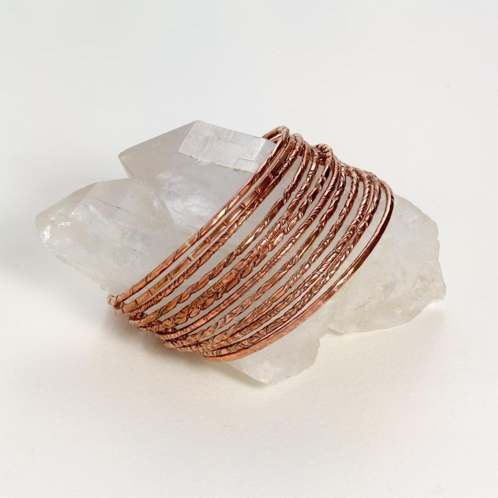 Copper bangles s, m, l